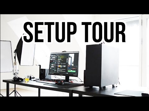 ¡Mi Setup de Gaming Studio Tour Torre Pantalla Teclado Altavoces y más