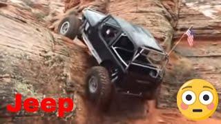 Jeep Wrangler - Amazing Rock Climbing