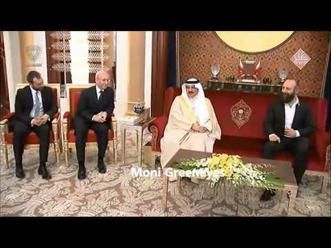 Halit Ergenç,Okan Yalabik,Selma Ergeç & Nur Fettahoğlu were recieved by the King of Bahrain