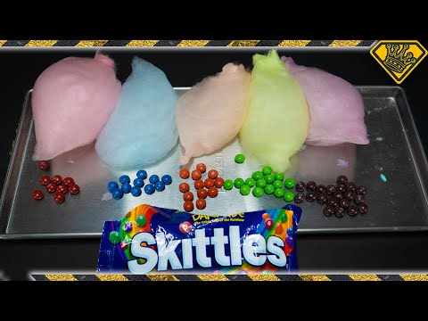 Can Skittles Become Cotton Candy
