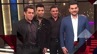 Salman Gets Candid On Karan's Chat Show | Salman Khan With His Brothers On Karan's Chat Show