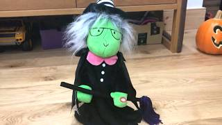 Singing Halloween Toy Witch