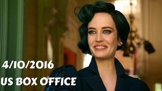 US Box Office (4/10/2016) أفلام البوكس أوفيس لهذا الأسبوع