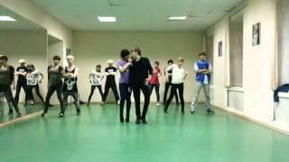 Trouble Maker - HyunA & JS cover dance practice
