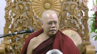 (23-October-2016 07:00 PM) Dhamma Talk By DhammaDuta Ashin Chekinda