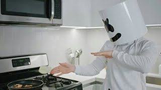 Cooking with Marshmello: How To Make Chicken Cheesesteaks