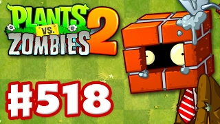 Plants vs. Zombies 2 - Gameplay Walkthrough Part 518 - New Modern Day Levels! (iOS)