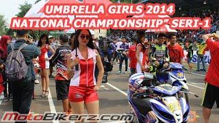 Celana ketat Umbrella Girls Indoprix 2014 Seri 1