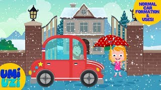 Umi Uzi |  Car | Vehicle assembly | Kids & Toddlers Video | Christmas Special