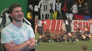 SIDEMEN FOOTBALL MATCH ! SDMN FC 7 - 2 YOUTUBE ALLSTARS | GOALS, HIGHLIGHTS + REACTION