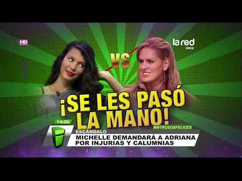 Xxx Mp4 Las Descalificaciones De Michelle Carvalho Y Adriana Barrientos Que Podrían Llegar A Tribunales 3gp Sex