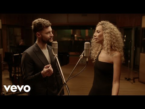 Calum Scott Leona Lewis You Are The Reason Duet Version Behind The Scenes