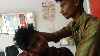 Master to Apprentice head massage