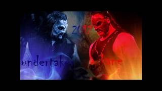 Undertaker masked vs Kane masked! 2012!