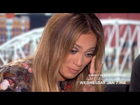 Little Girl Singing 'Let It Go' Makes Jennifer Lopez Cry on 'American Idol'