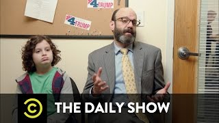 Behind the Scenes at Trump Headquarters - Meet the Speechwriter: The Daily Show