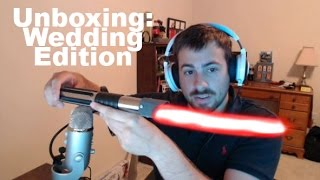 Star Wars Inspired Wedding Cake Knife Unboxing
