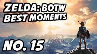 Zelda BOTW Best Moments | No. 15 | MANvsGAME, NarcissaWright, BarbarousKing, team_drx, Adriosa