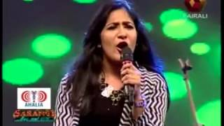 Shweta Mohan, Haricharan, Arunvijay Ahalia Sarangi 2016 Kairali TV
