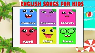 The Months Chant Song Kids | Nursery Rhyme Songs For Children | Nursery Rhyme TV
