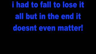 In The End by Linkin Park Lyrics