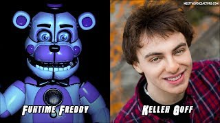 Five Nights At Freddy's Sister Location Characters Voice Actors