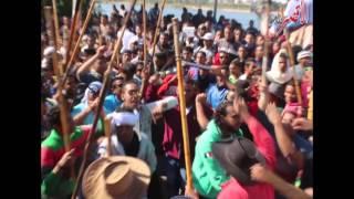 بالفيديو الآلاف من اهالي الاقصر ينظمون مسيره احتفالا بالمولد النبوي