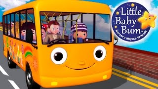 Wheels On The Bus | Part 5 | Nursery Rhymes | HD Version from LittleBabyBum!