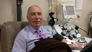 Blood Donor Reaches 100-Gallon Milestone
