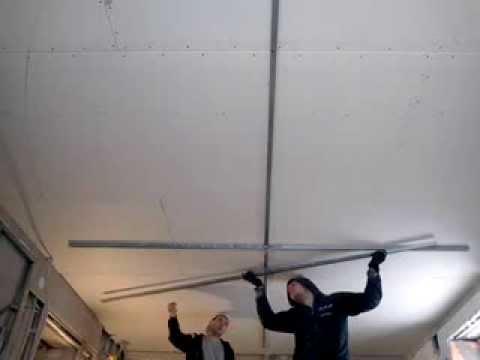 Как сделать овал на потолке