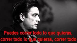 Johnny Cash   God's gonna cut you down en español