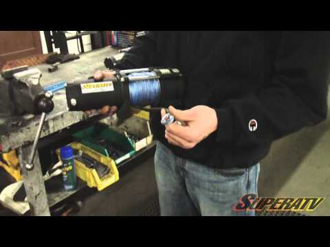 Polaris RZR XP 900 3500 LB Winch Install - Super ATV