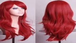 طريقة صبغ الشعر باللون الاحمر بنفسك فى البيت بدون تكلفة عالية