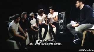 The full exclusive interview from the 1D WWA Film