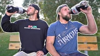 2 Liter Diet Coke No Burp Challenge (w/ Demolition Ranch)