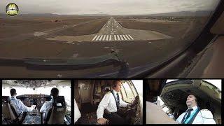 Azerbaijan Airlines B757 Landing Nakhchivan Runway view! [AirClips]