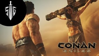 Komşulara Ziyaret  I  Conan Exiles  #4