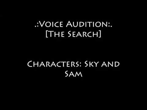 .:Voice Audition:. The Search [R]