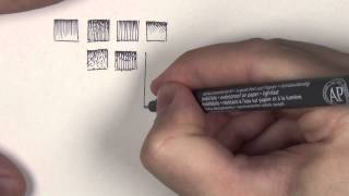 Simple Pen and Ink Shading Examples & Tutorial (Basic)