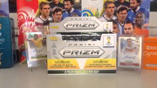 Panini Prizm-unboxing Box 1/6 autograf Messi !