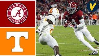 Tennessee vs #1 Alabama Highlights | Week 8 | College Football Highlights