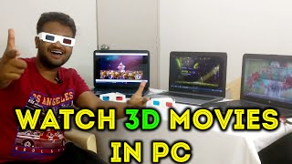 How To Watch 3D Movies On PC [Hindi]