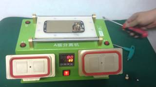 samsung Lcd Frame separating +Heating platform Machines