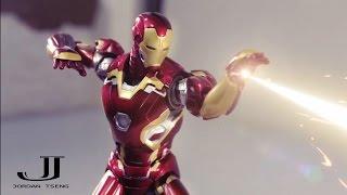 Iron man stop motion- Civil battle part2