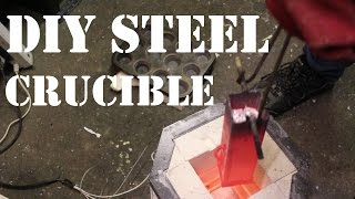 Making a Steel Crucible For Casting Aluminium