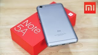 Xiaomi Redmi Note 5A - Unboxing & Benchmarks!