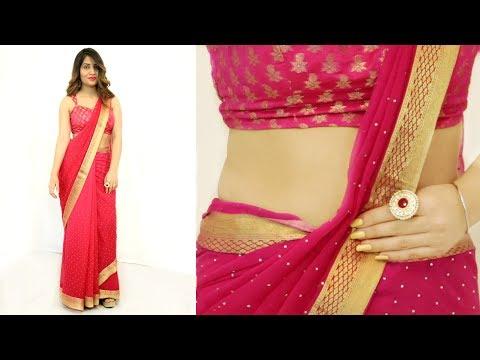 Xxx Mp4 2 Mins में साड़ी पहनने का सही तरीका How To Wear Saree Perfectly Anaysa 3gp Sex
