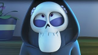 Funny Animated Cartoon | Spookiz Zizis Halloween Costume Disguise 스푸키즈 Cartoon For Children