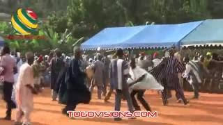 Les danses des esprits en pays Tem au Togo