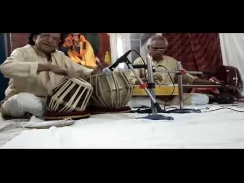Shamsher Bahadur Sinha teen taal duet with mohanveena in patna oct 2014.